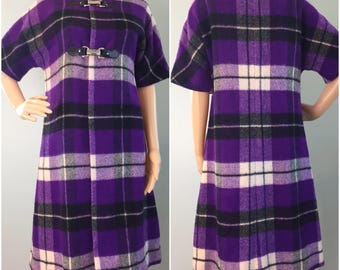 1960s Ruth Norman for Gay Gibson Wool Coat - Fits XS - S