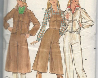 Butterick 5650 Young Junior/Teen Overalls and Jacket Size 7-8