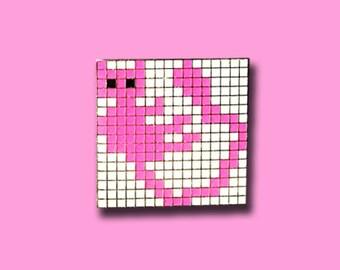 Mew Pin Geometric Hat Lapel EDM Festival Rave Snapback Music Festival Grid