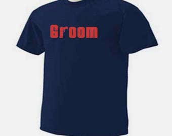 GROOM MOBSTER Wedding Bridal Party T-Shirt