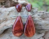 Art Deco, Victorian, Jewellry, Jewelry, Minimalist Earrings, Dainty Earrings, Studs, Wood, Stud Earrrings, Australia, Wood Earrings, Boho