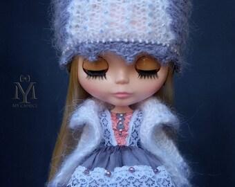 """Blythe Set """"Primavera"""". Blythe dress. Blythe Hat. Blythe Jacket"""