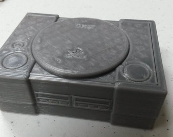 3D Printed Mini PS1 Raspberry Pi 2 Case Kit