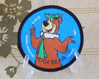 Hanna Barbera Yogi Bear 1979 authentic licensed sew on patch