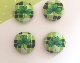 Shamrock Magnets, Shamrock Magnets, Cute Magnets, Cubicle Decor, Gifts For Coworkers, Shamrock Gifts, Office Organization, Desk Decor