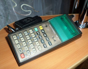 Vintage electric calculator Soviet calculator Office calculator Vintage adding machine Desk calculator Old electronic calculator Vintage