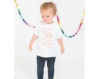 Big Sister Shirt, Kids Sister Sibling Shirt, Girls Little Sister Shirt, Max and Mae Clothing