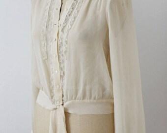 Beautiful sheer blouse