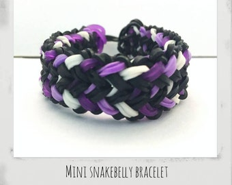 Mini Snakebelly Rainbow Loom Bracelet Party Favors Gifts And More