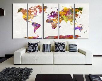 world map canvas art world map canvas map canvas world map wall art map on canvas world map print world map poster world map watercolor map