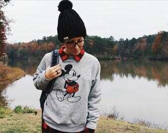 Vegan Slouchy Chunky Ribbed Beanie With Pom-Chunky Crochet Hat: The Bravo Beanie in Midnight