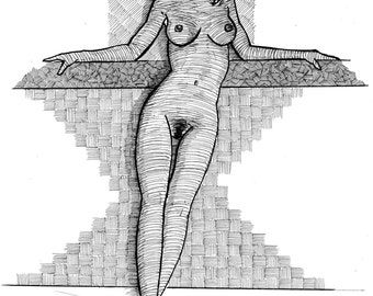 nude coloring page erotic coloring page sexy coloring page adult coloring erotic