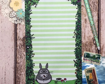 10 Sheets - My Neighbor Totoro Letter Writing Paper
