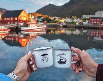 Adventure time white mug