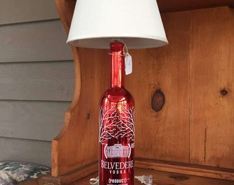 Belvedere Vodka Special Edition Table Lamp (750ml Bottle)