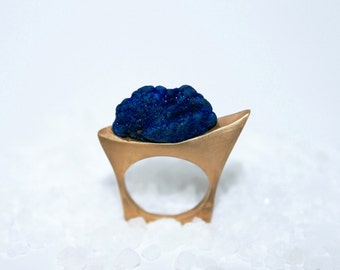 Blue azurite