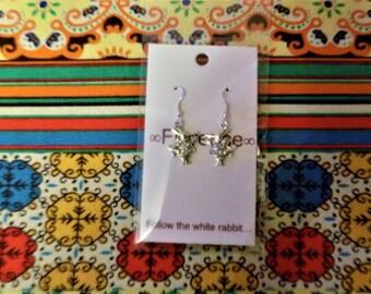 Follow the rabbit... earrings