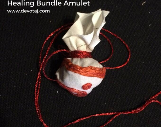 Custom Jewish Healing Bundle Amulet | Kesharim (קשרים)