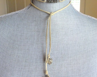 Pyrite Wrap-around Choker - FULLY ADJUSTABLE