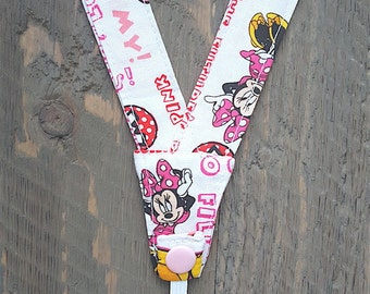 Super no-slip Secure and Comfortable Nebulizer Head Strap -- Minnie Mouse