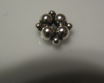 7mm Sterling silver bead spacer-  sterling silver bead spacers-925 sterling silver-ONE spacer