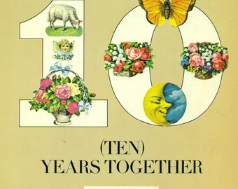 The Best of PETER, PAUL & MARY 10 (Ten) Years Together 1970 Guitar Piano Vocals