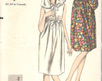 Vogue 6241 1960s Misses Cover Up Hooded Beachdress Pattern Young Fashionables Peek A Boo Womens Vintage Sewing Pattern Size 12 Bust 32