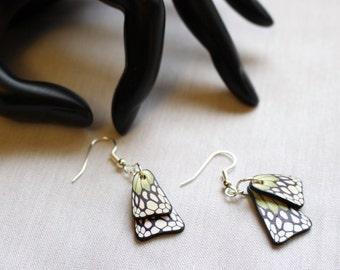 Butterfly Wings Earrings Green wings