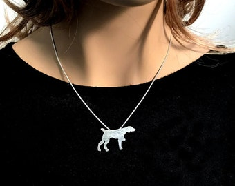 German Shorthaired Pointer Necklace German Shorthair Pointer Jewelry dog lover gifts pointer items dog gifts