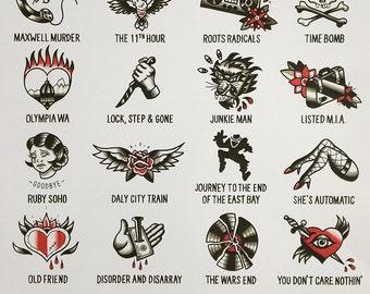 Rancid Tattoo Designs