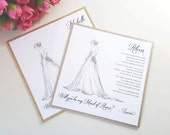 Will You Be My Bridesmaid Card, Personalized Maid of Honor Cards, Gold Glitter Wedding Proposal - Personalized Bridesmaid Proposal Card Set