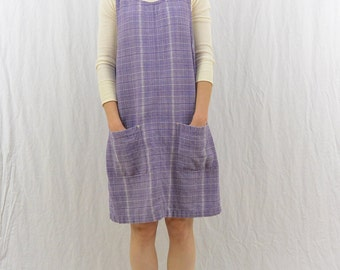 Vintage Lavender Jumper, Size Small-Medium, Oversized, Quirky, Mori Girl, 90's Clothing, Kawaii, Pockets, Tumblr Clothing