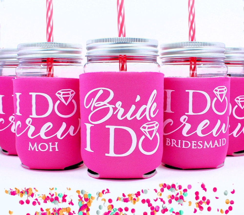 I Do Crew Bachelorette Cups Bride Cup By Celebr8tions On Etsy