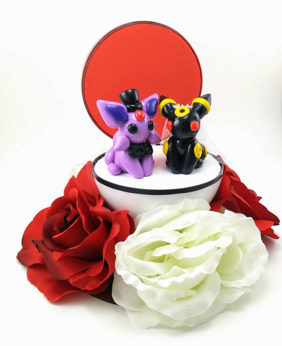 Any Pokemon Wedding Cake Toppers