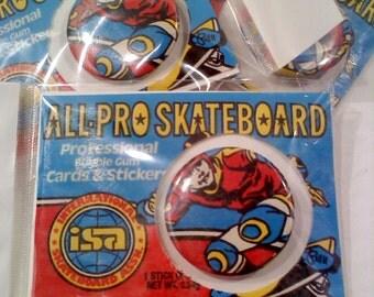 Skateboarder Button