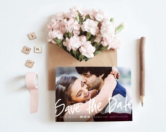 Save the Date Magnet Photo, Photo Save the Date Magnet, Save the Date Magnets with Photo