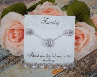 Bridesmaid Sets | Bridesmaid Gifts | Bridesmaid Jewelry | Wedding Jewelry | Bridal Sets | Personalized Jewelry | Weddings