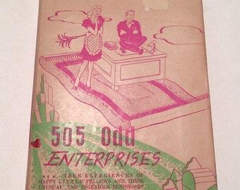 505 Odd Enterprises Discovered! 1946 Book First Edition Side Gig Ideas circa 1940's Plus Bonus Ephemera Included from Soaring Hawk Vintage