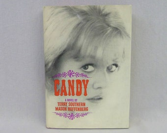 1964 Candy - Terry Southern and Mason Hoffenberg - Putnam Edition - Vintage 1950's Novel