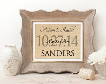 Wedding Gift for Couple | Wedding Gift | Bridal Shower Gift for Bride | Personalized Wedding Gift | Bridal Wedding Decoration | Wedding Sign