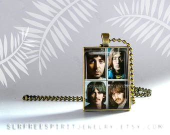 Beatles Key Chain, Fab Four Key Chain, British Icons, Musicians, Famous Musicians, John, Paul, George and Ringo, Gift for Beatle Fan
