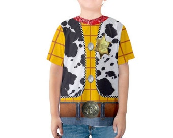 Kid's Woody Toy Story Inspired Shirt