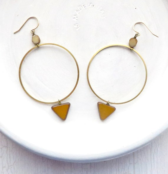 Bridesmaid Earrings > Montana Hoop Earrings II