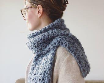 Crochet pattern Magical Fluff Scarf