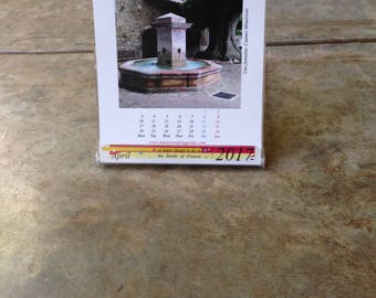 Desk top calendars from the South of France