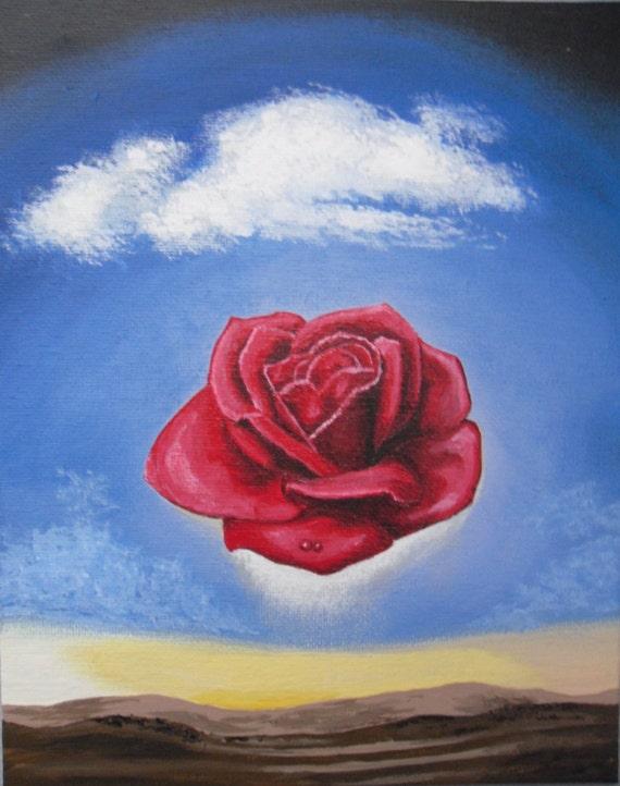 meditative rose Meditative rose by salvador dalí artwork type: painting.