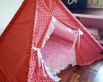 Children's Teepee, Kids Teepee, Teepee, Teepee Tent, Play Tent, Kids Tent, Girls Teepee