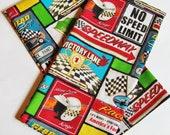 Auto Racing Kitchen Linens