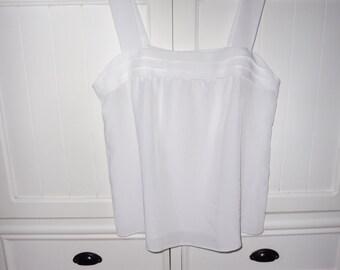 CLAUDE PASCALE Camisole top size 46 EN - 1980s