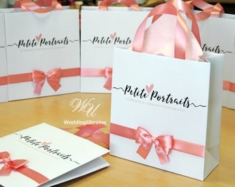 custom paper bags for business Create memorable gifts and products with our digitally printed tissue paper wrap digiwrap use our tissue paper to line corporate gift bags personalized.